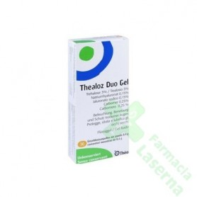 THEALOZ DUO GEL 0,4GR 30UNIDOS
