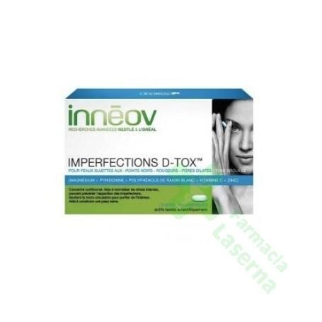 INNEOV IMPERFECCIONES D-TOX 40 COMP