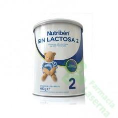 NUTRIBEN SIN LACTOSA 2 400G 1 BOTE NEUTRO