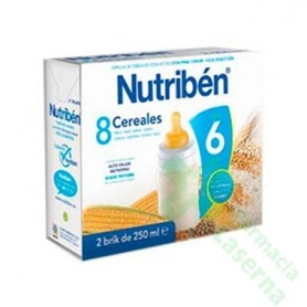 NUTRIBEN 8 CEREALES 2X250 ML