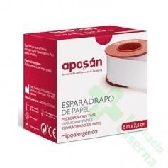 ESPARADRAPO HIPOALERGICO APOSAN PAPEL 5 X 2'5 COM