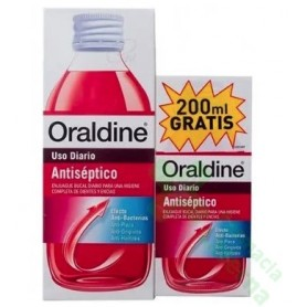 PACK ORALDINE ANTISÉPTICO 400 ML + REGALO DE 200 ML