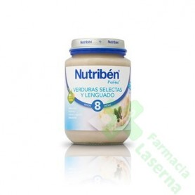 NUTRIBEN JUNIOR LENGUADO VERDURA