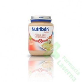 NUTRIBEN JUNIOR POLLO VERDURAS