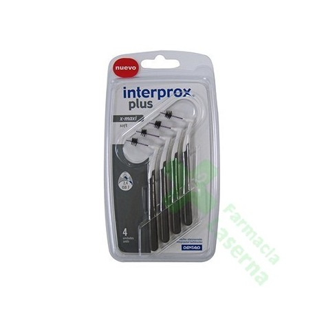 CEPILLO DENTAL INTERPROXIMAL INTERPROX PLUS X-MAXI