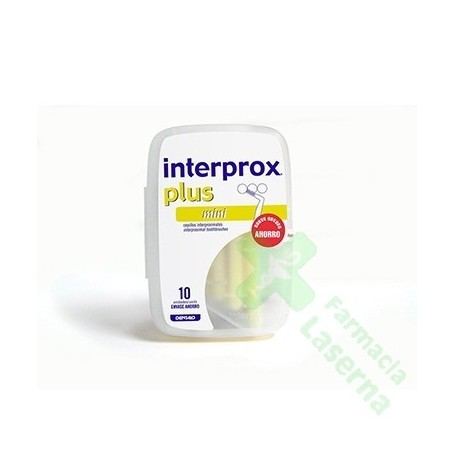 CEPILLO INTERPROX PLUS MINI10 UDS