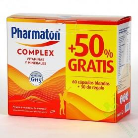 PHARMATON COMPLEX 60 + 30 CAPS GRATIS