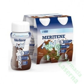 MERITENE ACTIV CHOCO 4X125ML