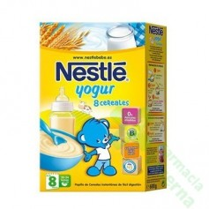 NESTLE 8 CEREALES YOGUR S/L 600 G