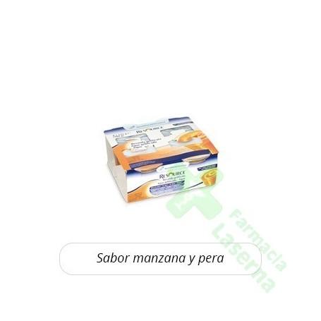 RESOURCE AGUA GEL MANZANA PERA 1X12