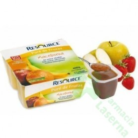 RESOURCE PURE FRUTAS MACEDONIA 4X100