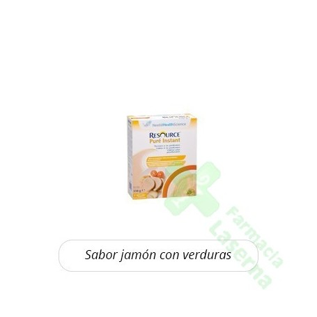 RESOURCE PURE JAMON VERDURAS 350 G