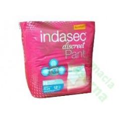 INDASEC PANT discreet T/MED 12uds
