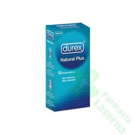 PROFILACTICO DUREX NATURE PLUS EASY ON 12 UDS