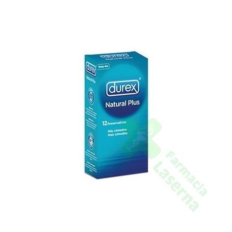 PROFILACTICO DUREX NATURE PLUS EASY ON 12 UDS