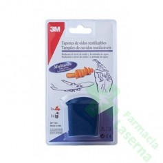 TAPONES OIDOS 3M AGUA 2 UDS