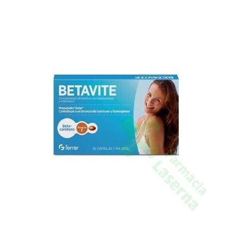 BETAVITE 30 CAPSULAS
